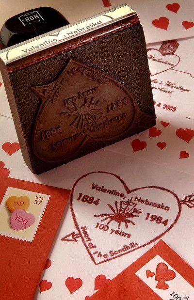 Valentine Postmark