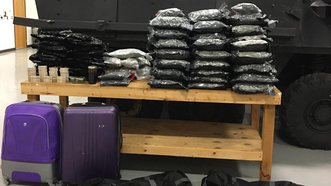 State Troopers seize 163 pounds of marijuana, $216,000 during