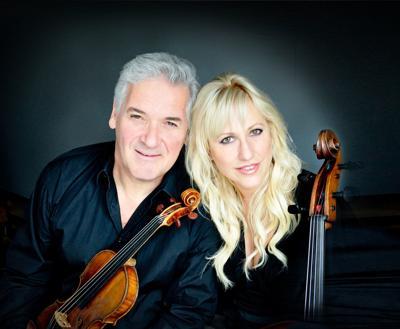 Pinchas Zukerman and Amanda Forsyth