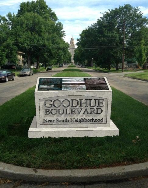 Goodhue Monument