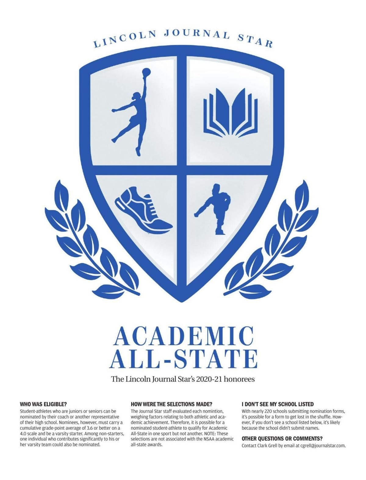 2020-21 Journal Star Academic All-State honorees