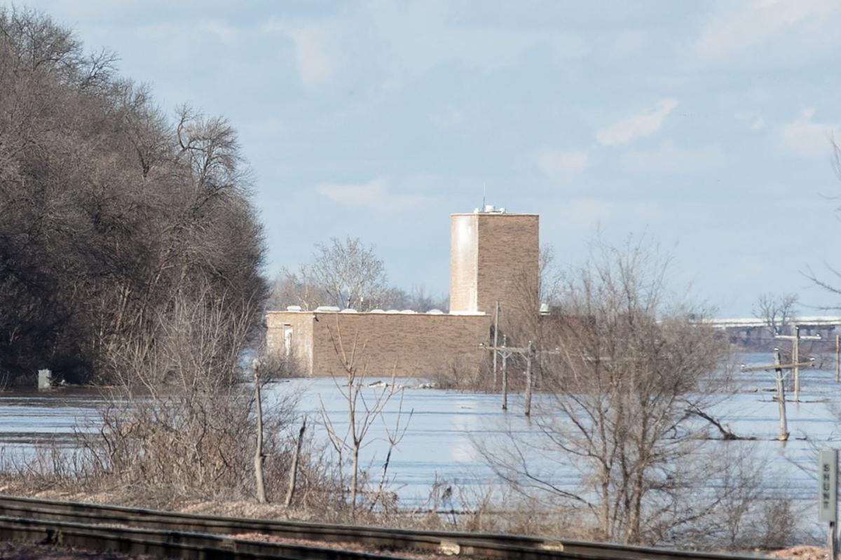 Floods cut off access to Plattsmouth water treatment plant