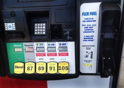 Flex fuel pump in Valentine