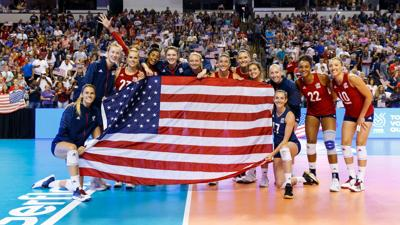 USA volleyball qualifies for Olympics