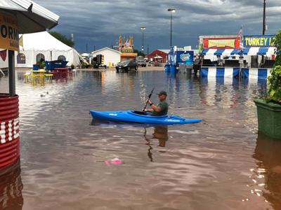 Nebraska State Fair flooding