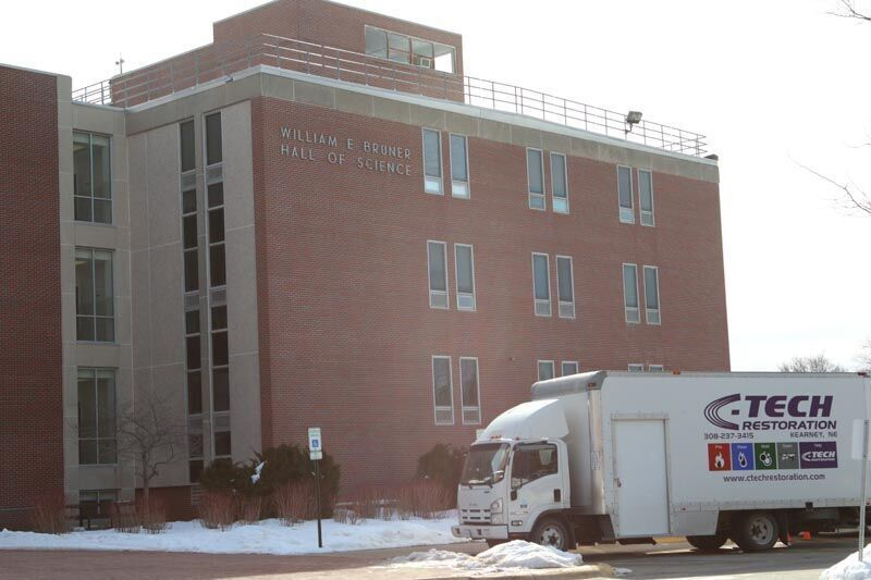 Bruner Hall of Science repairs
