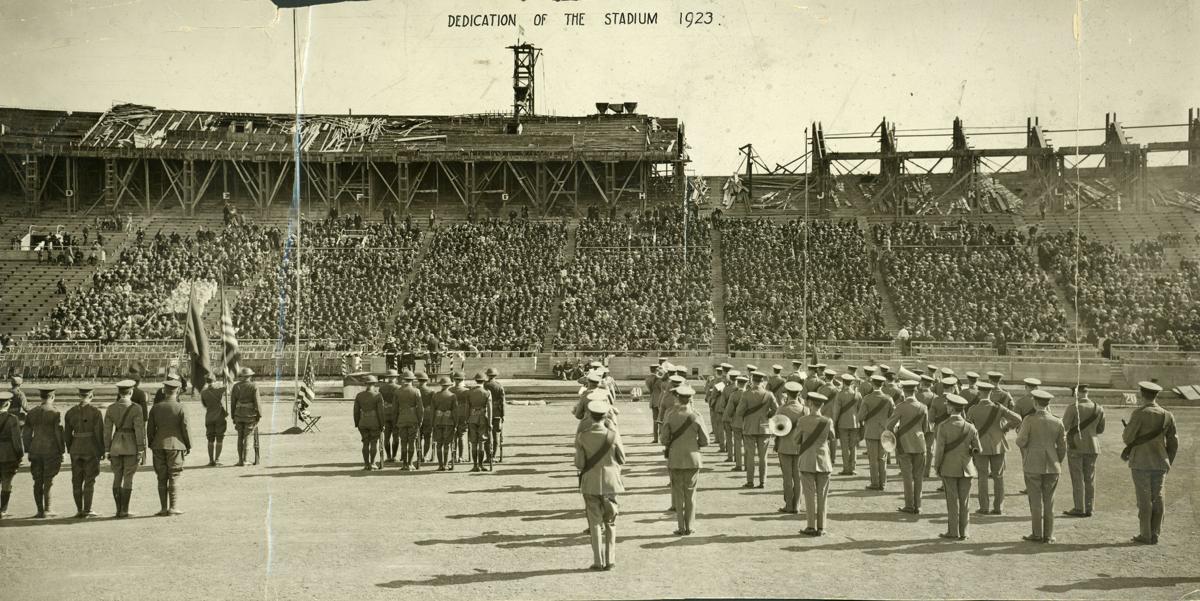 Memorial Stadium dedication