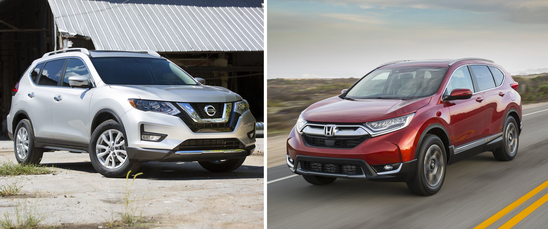 When Comparing The Nissan Rogue, Left, With The Honda CR V, The Outcome  Isnu0027t Even Close.