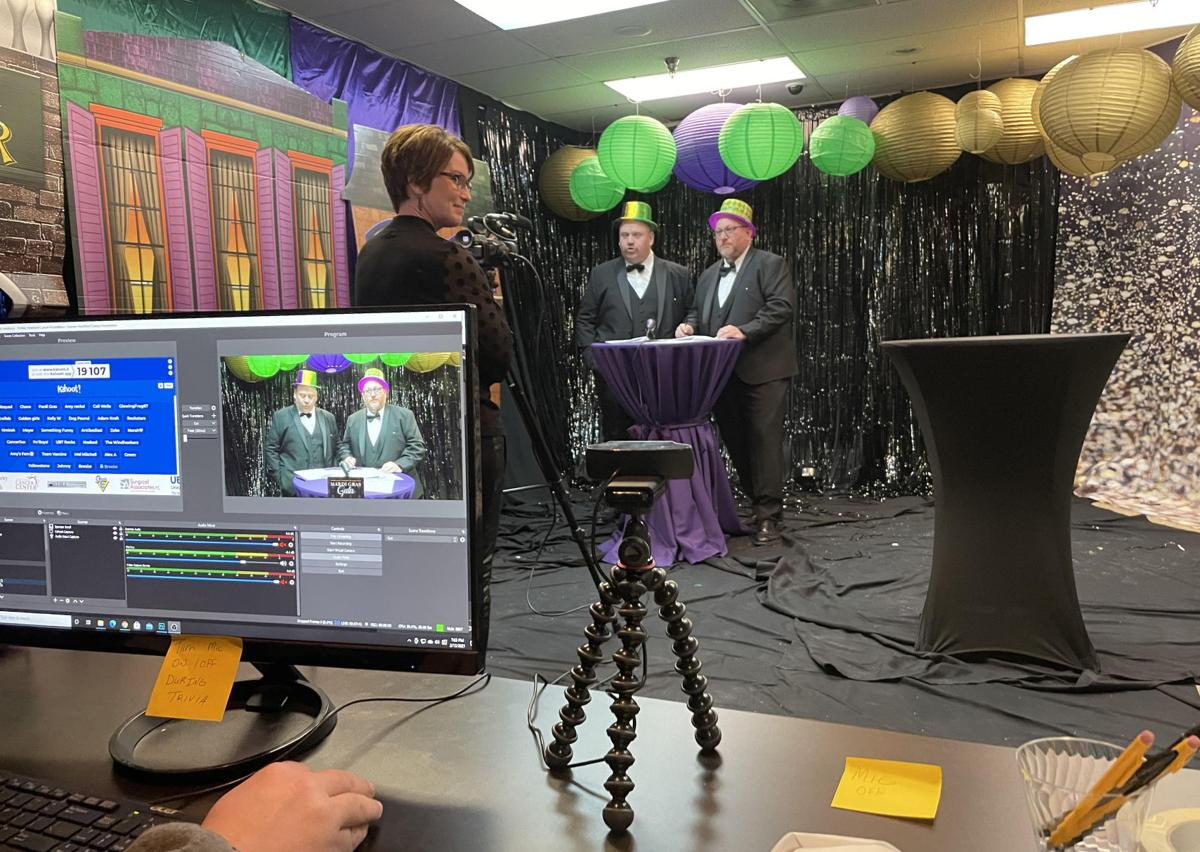 Going virtual: A behind-the-scenes look at the Mardi Gras event