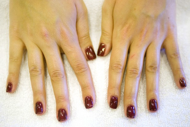 shellac manicures offer color with staying power