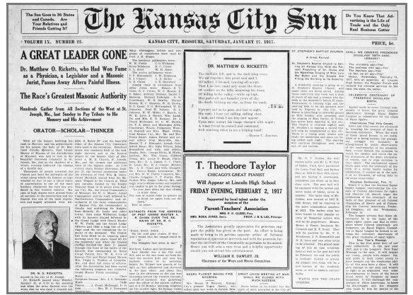Kansas City Star clipping