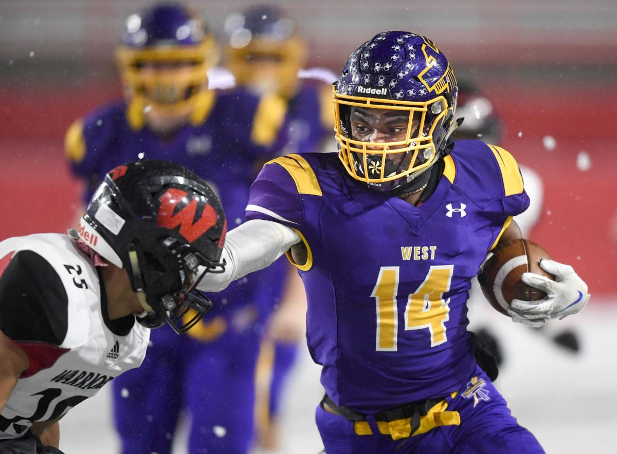 Bellevue West vs. Omaha Westside, 11.26