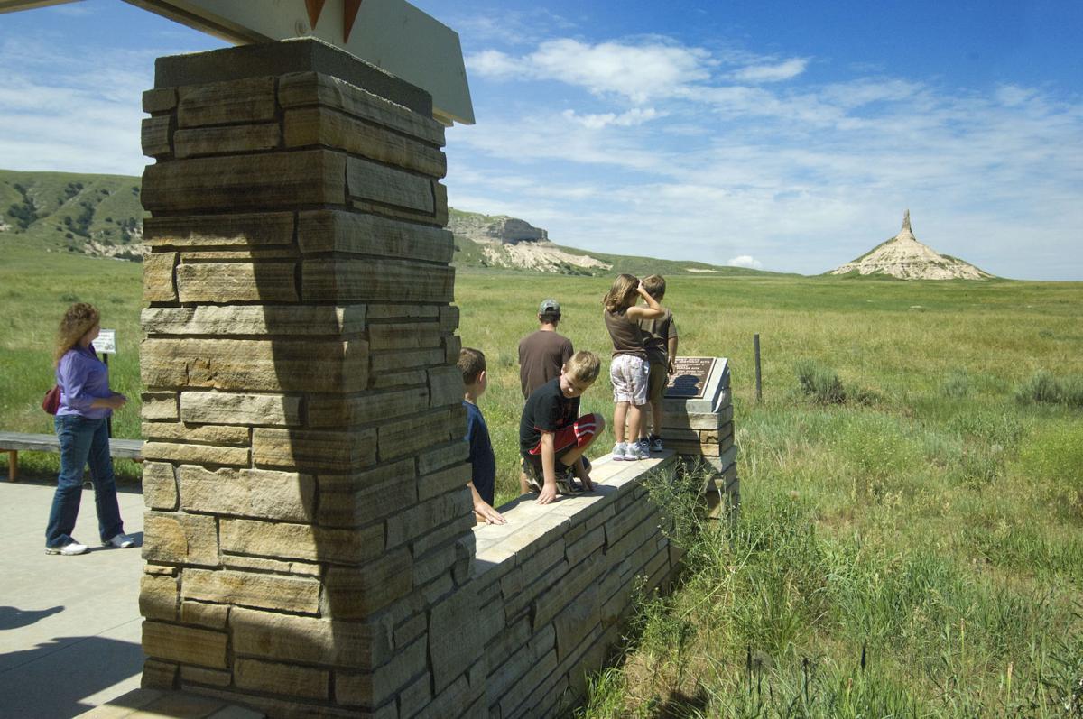 Chimney Rock Visitors Center at Bayard