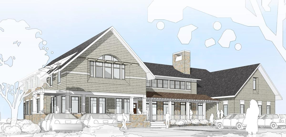 Mourning Hope exterior drawing
