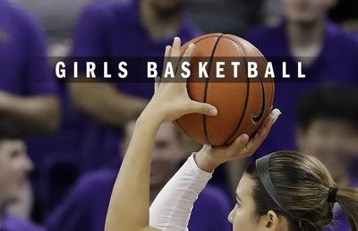 High school girls basketball logo 2014