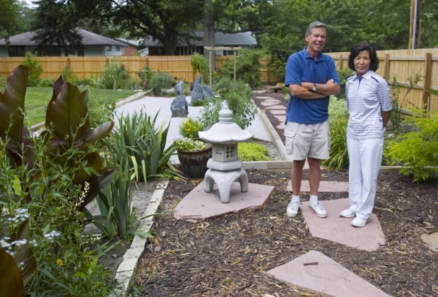 Lincoln Woman Transforms Yard Into Japanese Style Garden