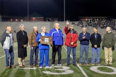 '77 and '78 East High state champion track team members
