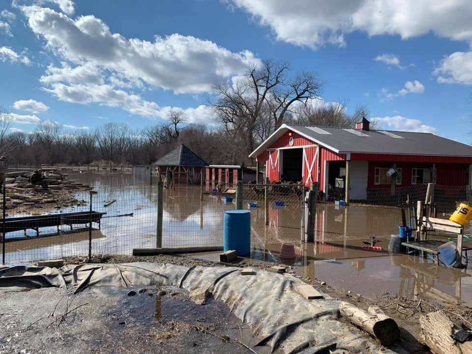 Floods came to Nebraska farmland and left tons of sand behind