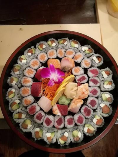 Grey Whale sushi
