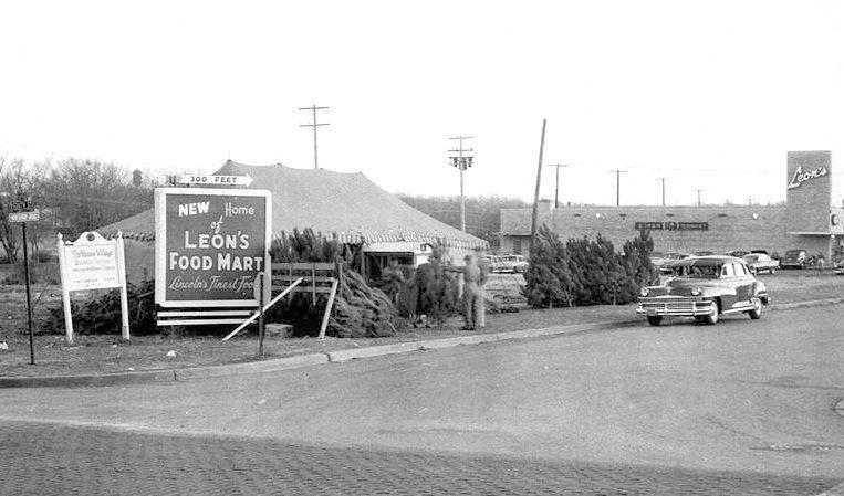 Rathbone Village in 1950s