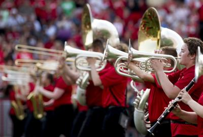 Cornhusker Marching Band Drill Down, 8.17.18
