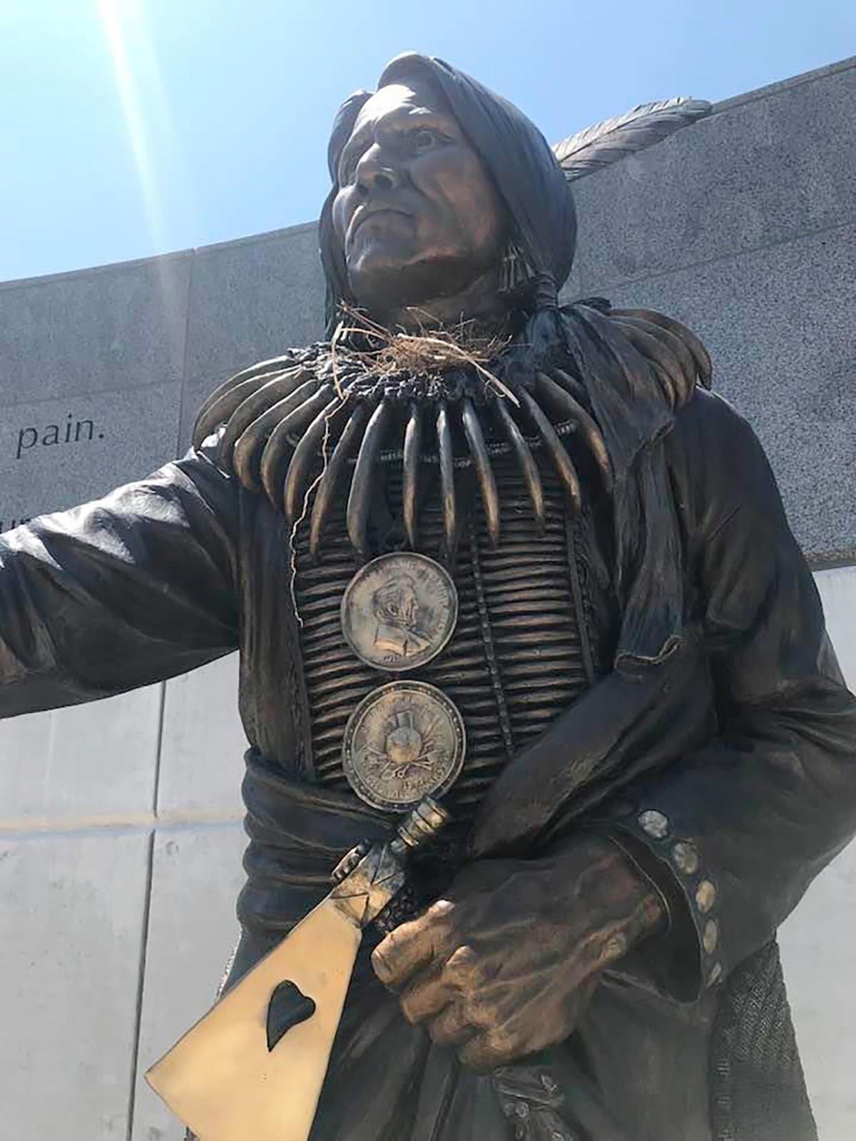 Standing Bear statue