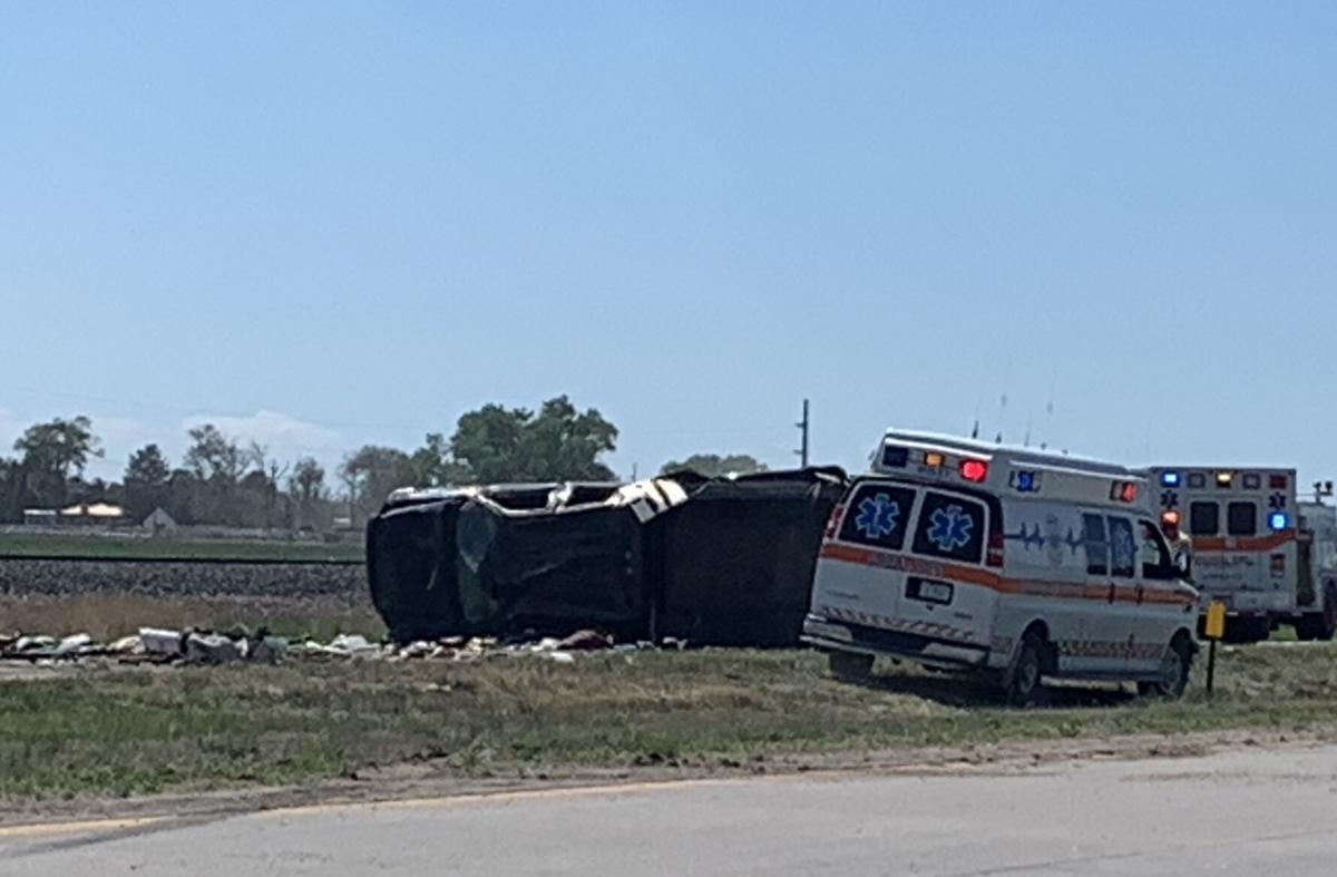 Crash near Mitchell
