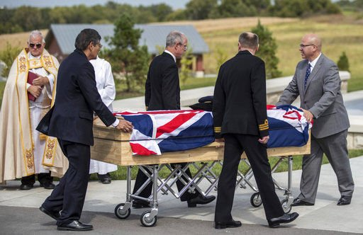 WWII codebreaker buried in Nebraska with UK military honors