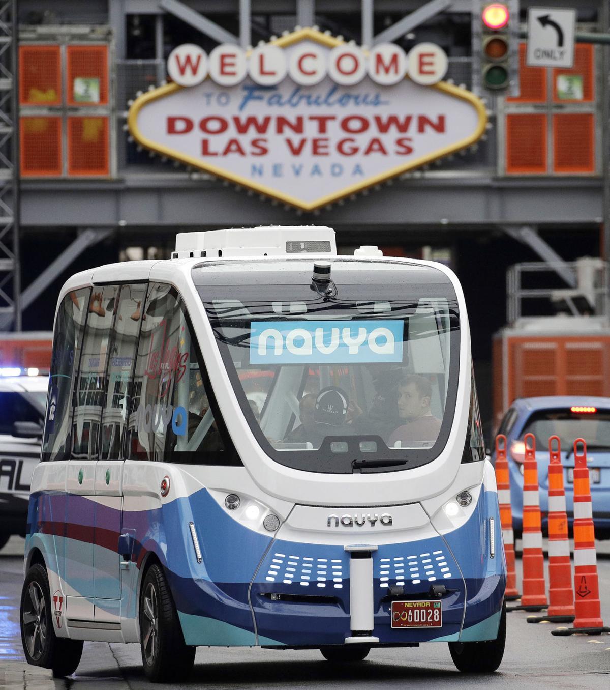 Driverless Shuttle Vegas