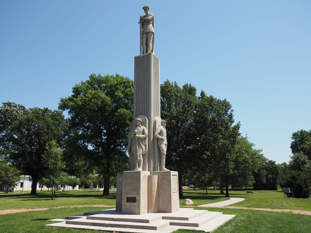 War and Victory sculpture