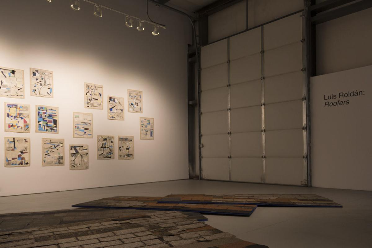 Installation view - Horizontal
