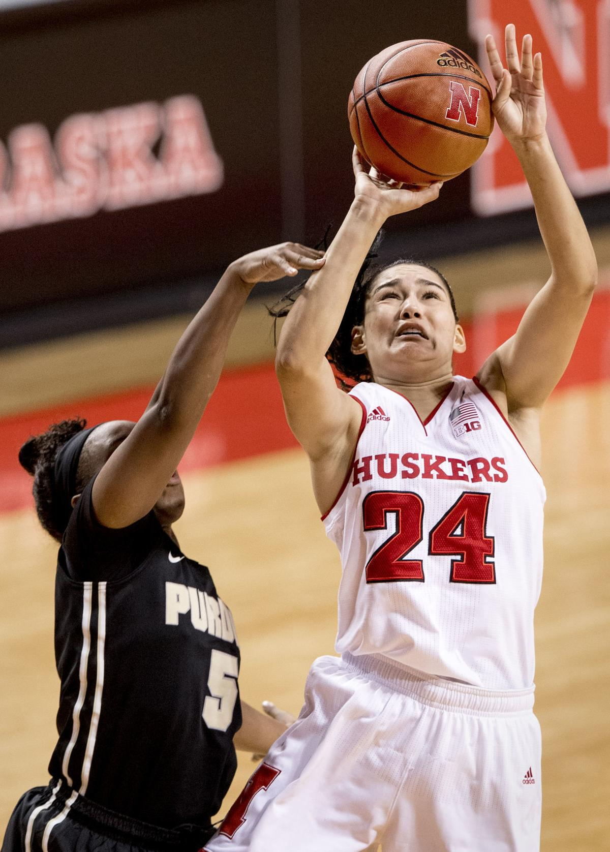 Purdue vs. Nebraska women's hoops, 1/24/18