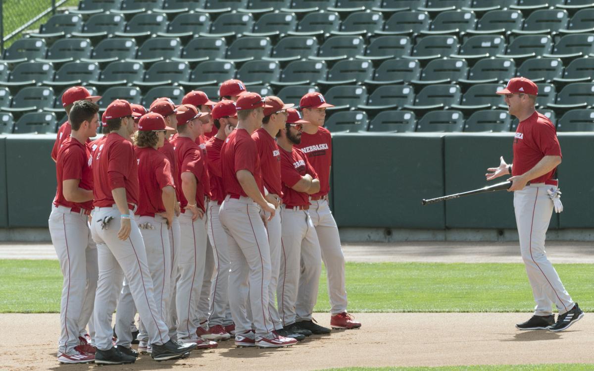Nebraska baseball practice, 9/5/17