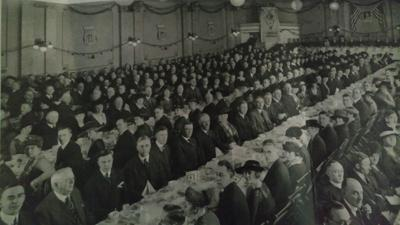 Kiwanis Distinguished Service Award 1931 luncheon