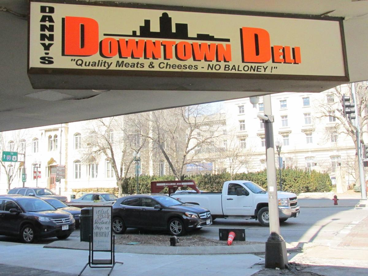 Deli sign at 10th and O streets