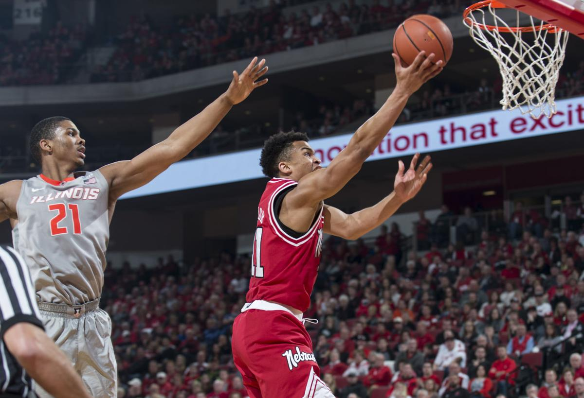 Sinking threes with Nebraska men's basketball | Men's ...