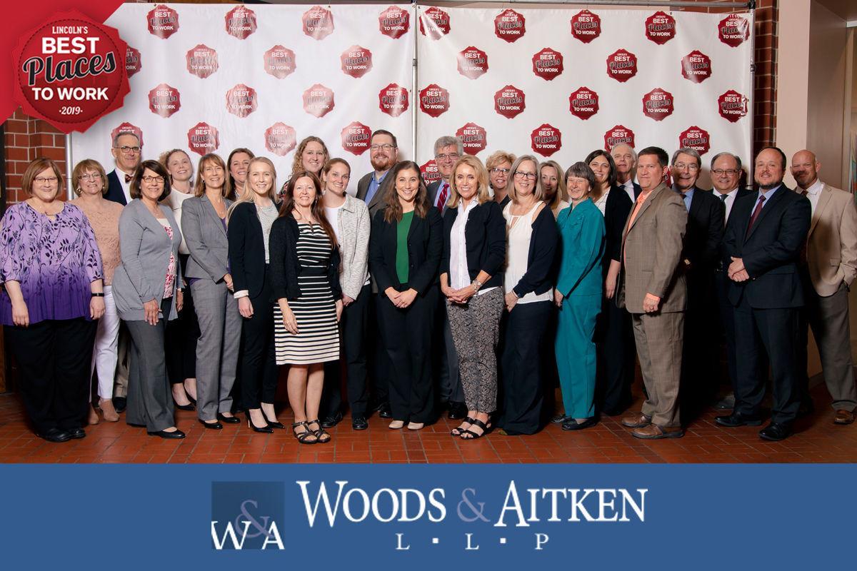 Our Proud Sponsors, the Woods & Aitken Team