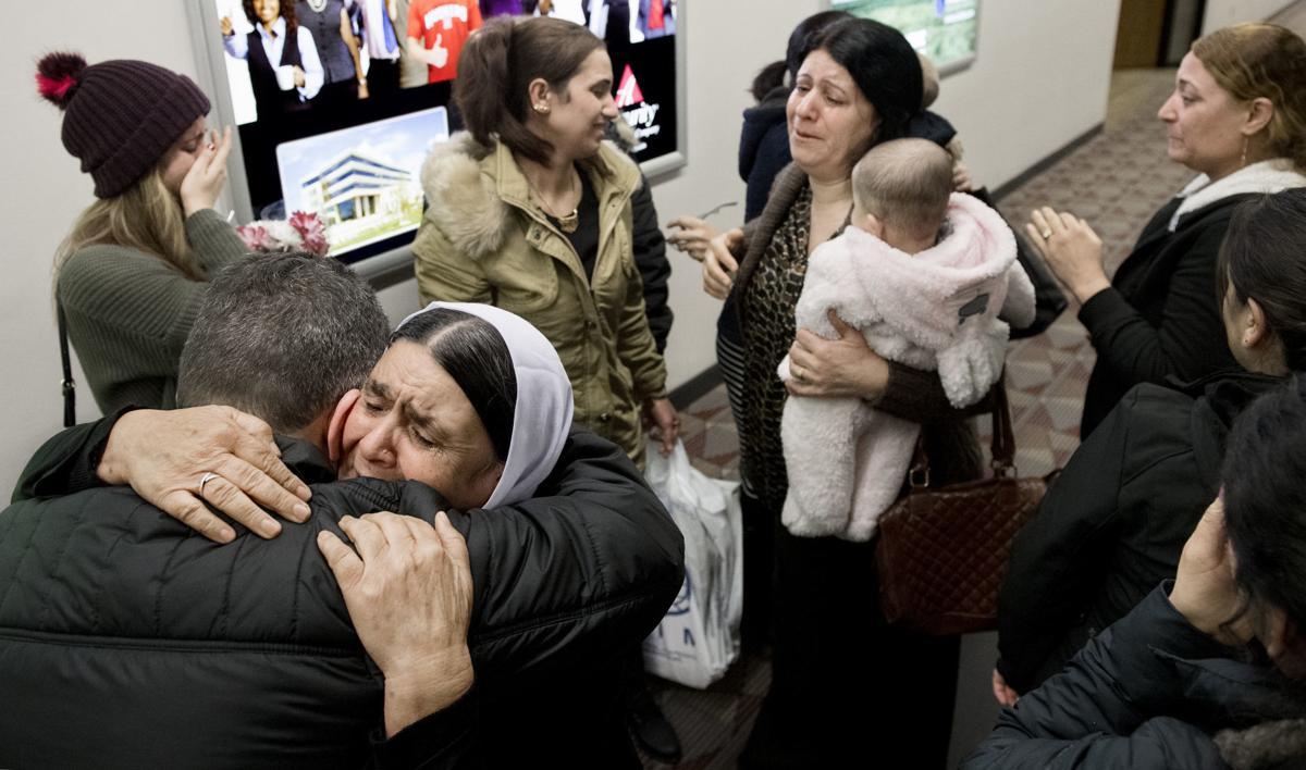 Yazidi Family Arrives in Lincoln, 12.19