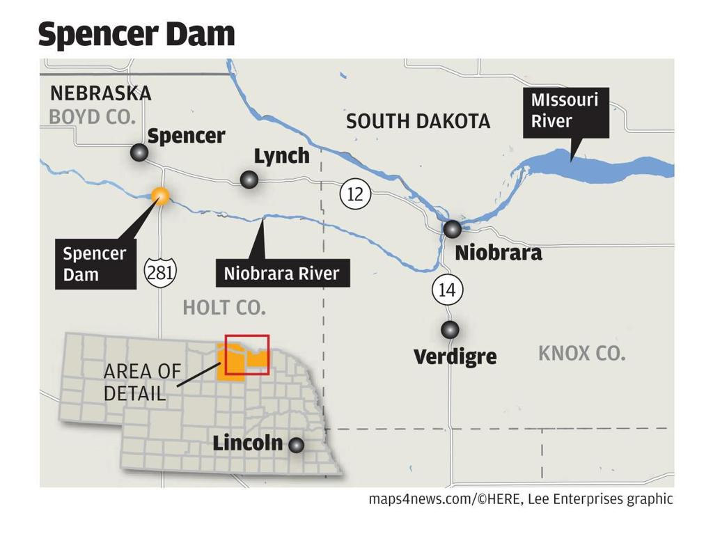 11-foot wall of water: One dam breaks, three counties suffer