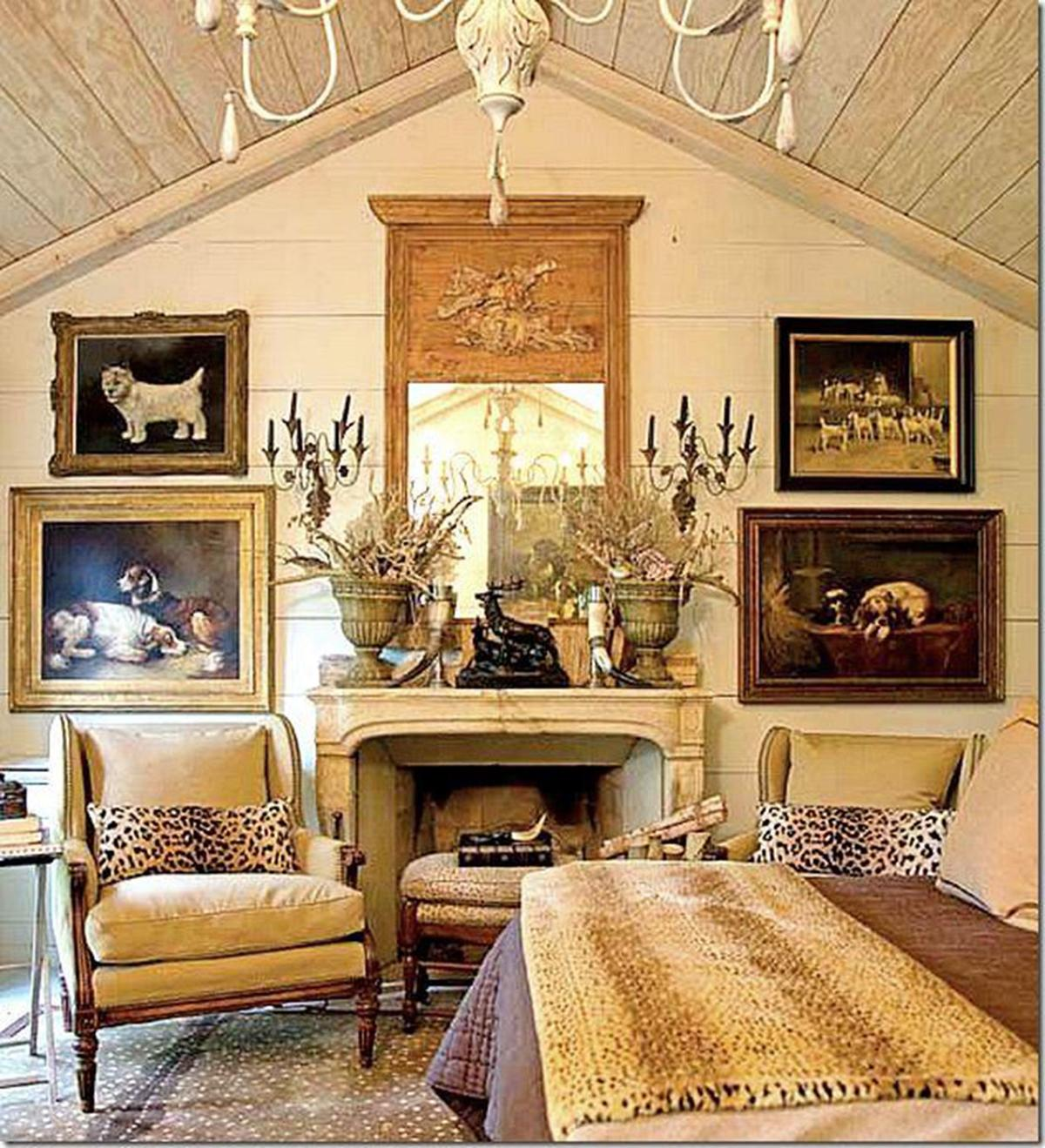 Mary carol garrity four of my favorite interior designers for Charles faudree antiques and interior designs