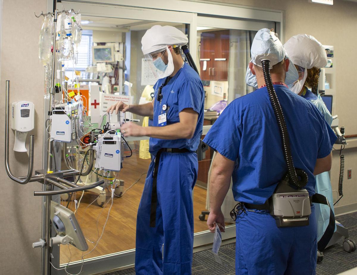 COVID-19 unit at Bryan Health