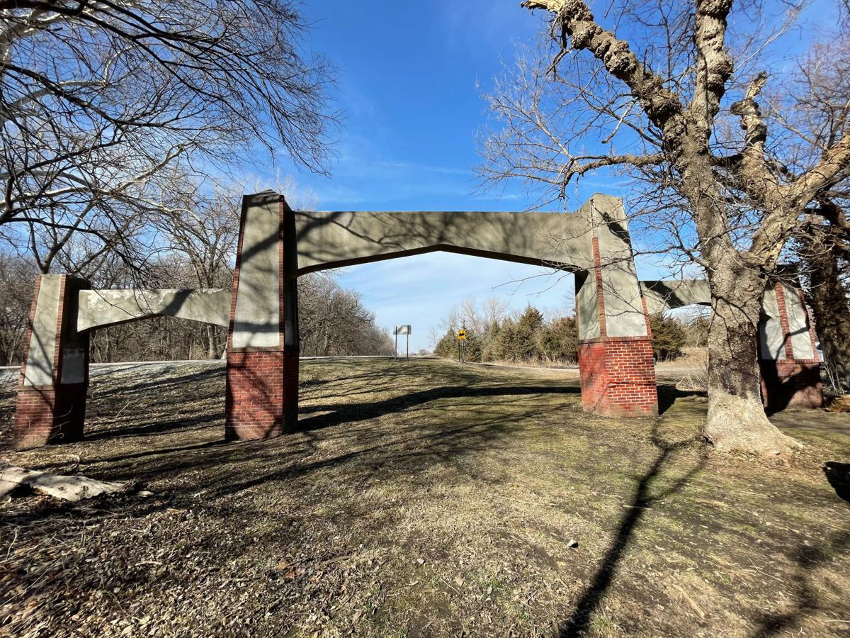Epworth Lake Park arches