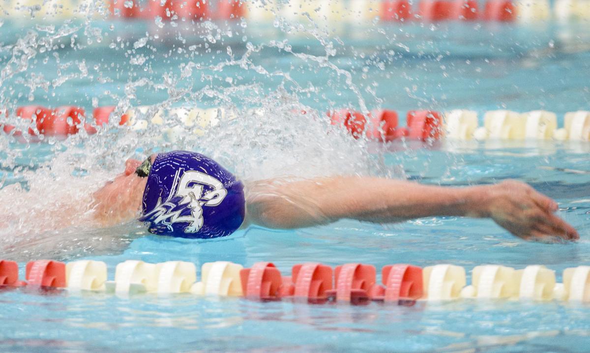 Boys State Swimming Prelims, 2/24/17
