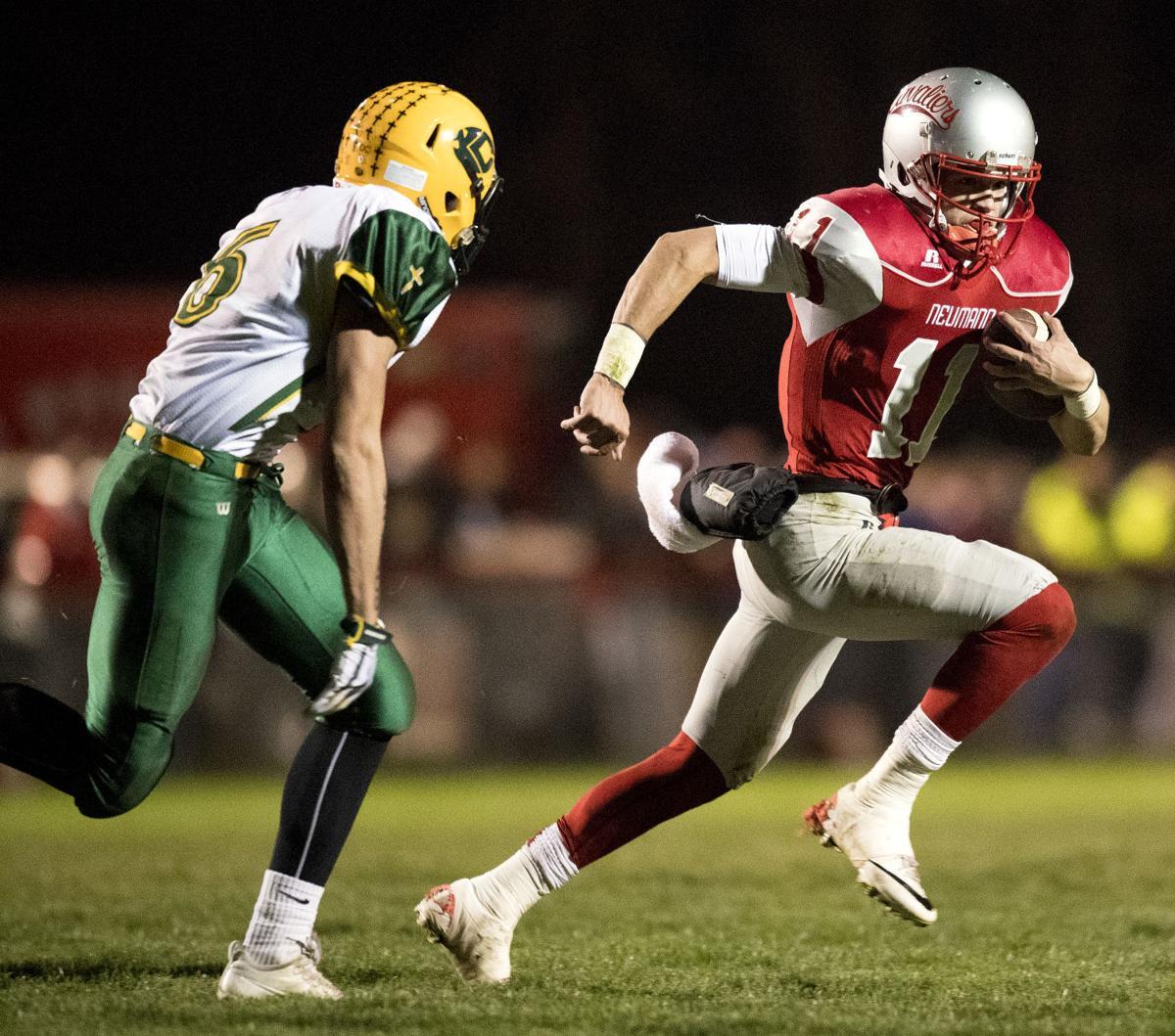 C-1 football, Kearney Catholic vs. Bishop Neumann, 11/11