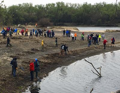Volunteers help clean up Fremont Lakes State Recreation Area | More