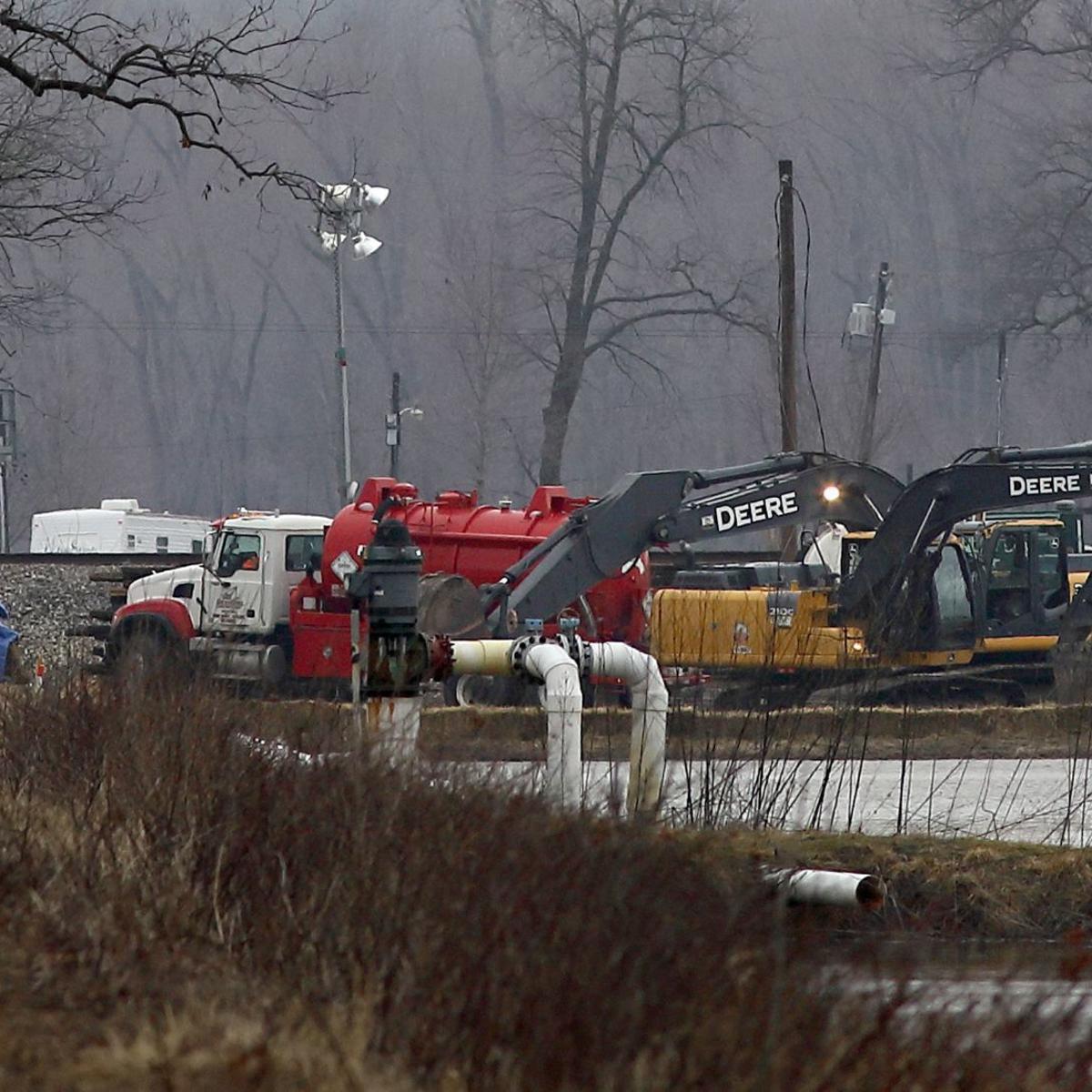 Keystone oil pipeline shut down after leak near St  Louis | Nebraska