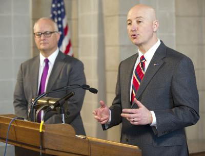 Doug Peterson and Pete Ricketts