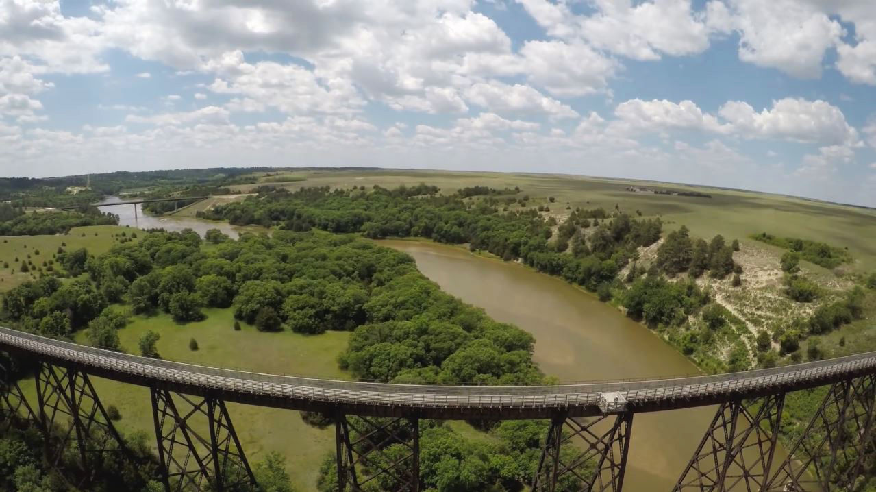 A Video Of The Cowboy Trail Bridge Over The Niobrara River Near Valentine  Was Approaching 2 Million Views In A Matter Of Days. It Was Posted On The  Nebraska ...