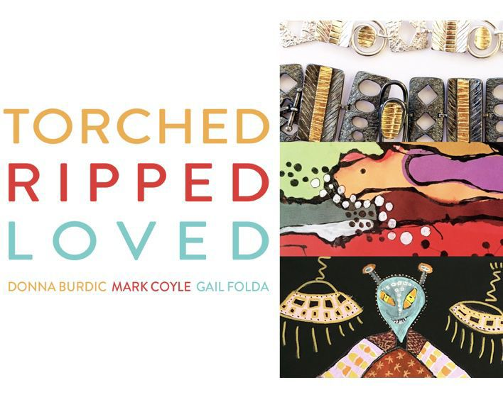 "Gallery 9 art show ""Torched Ripped Loved"""