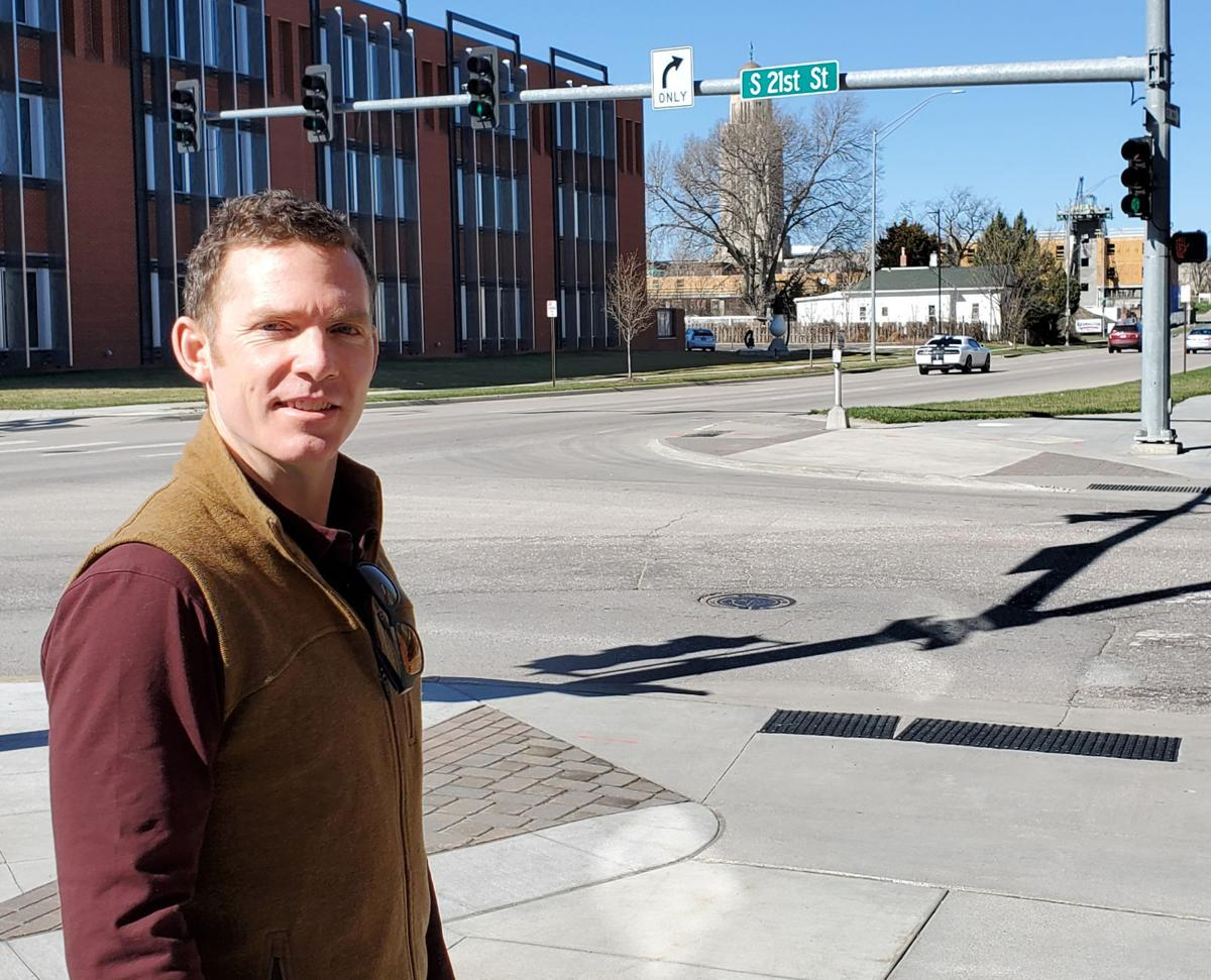 Jake Hoppe in Telegraph District